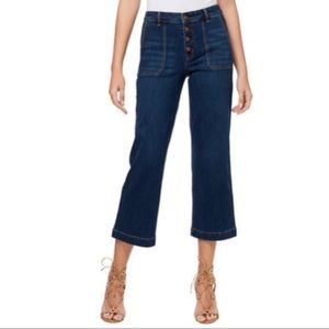NWT Jessica Simpson Adored Wide Leg Jeans